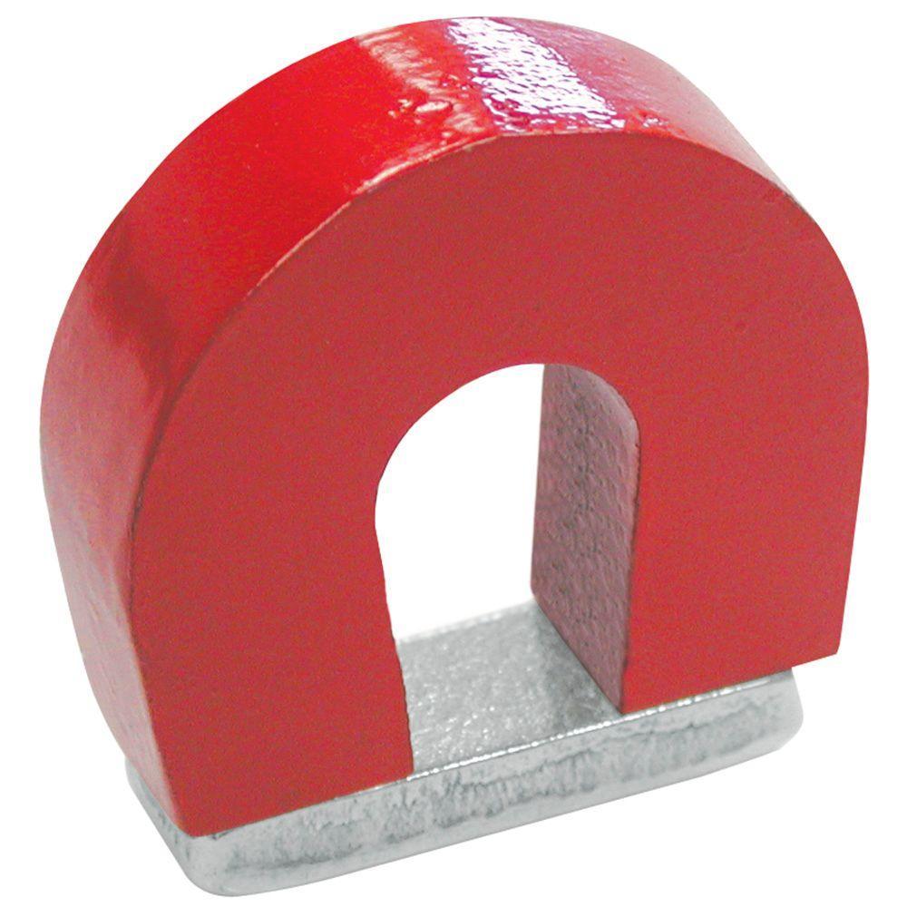 master magnetics 2 lb alnico horseshoe magnet pull red 97924 the
