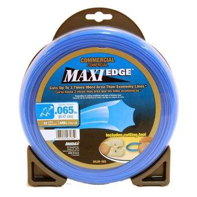 440 ft. Maxi Edge Commercial 0.065 in. Trimmer Line for Most Gas and Electric Trimmers