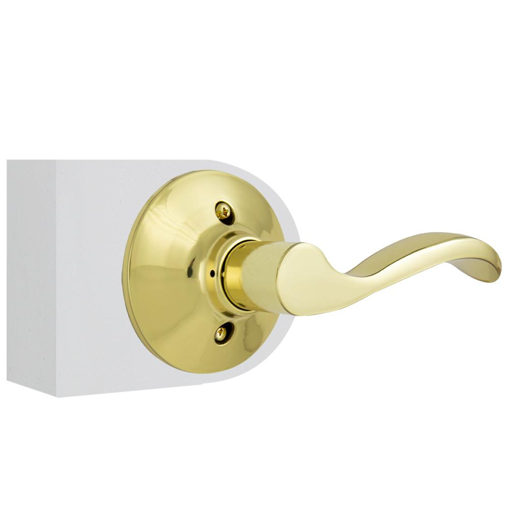 Defiant Naples Collection Brass Closet door handle