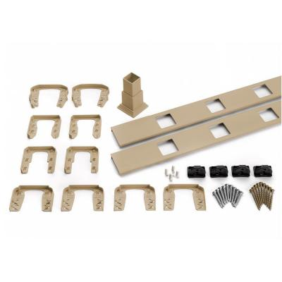 Transcend 91.5 in. Composite Rope Swing Horizontal Square Baluster Accessory Kit