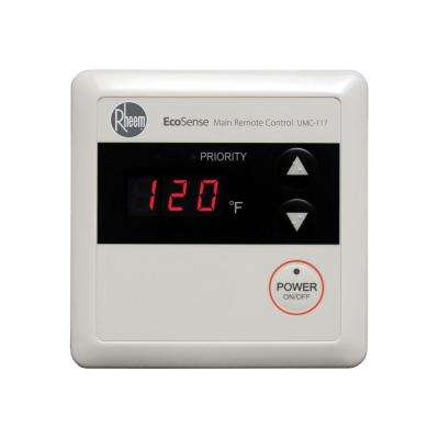Residential Wired Main Remote Control for Tankless Gas Water Heaters