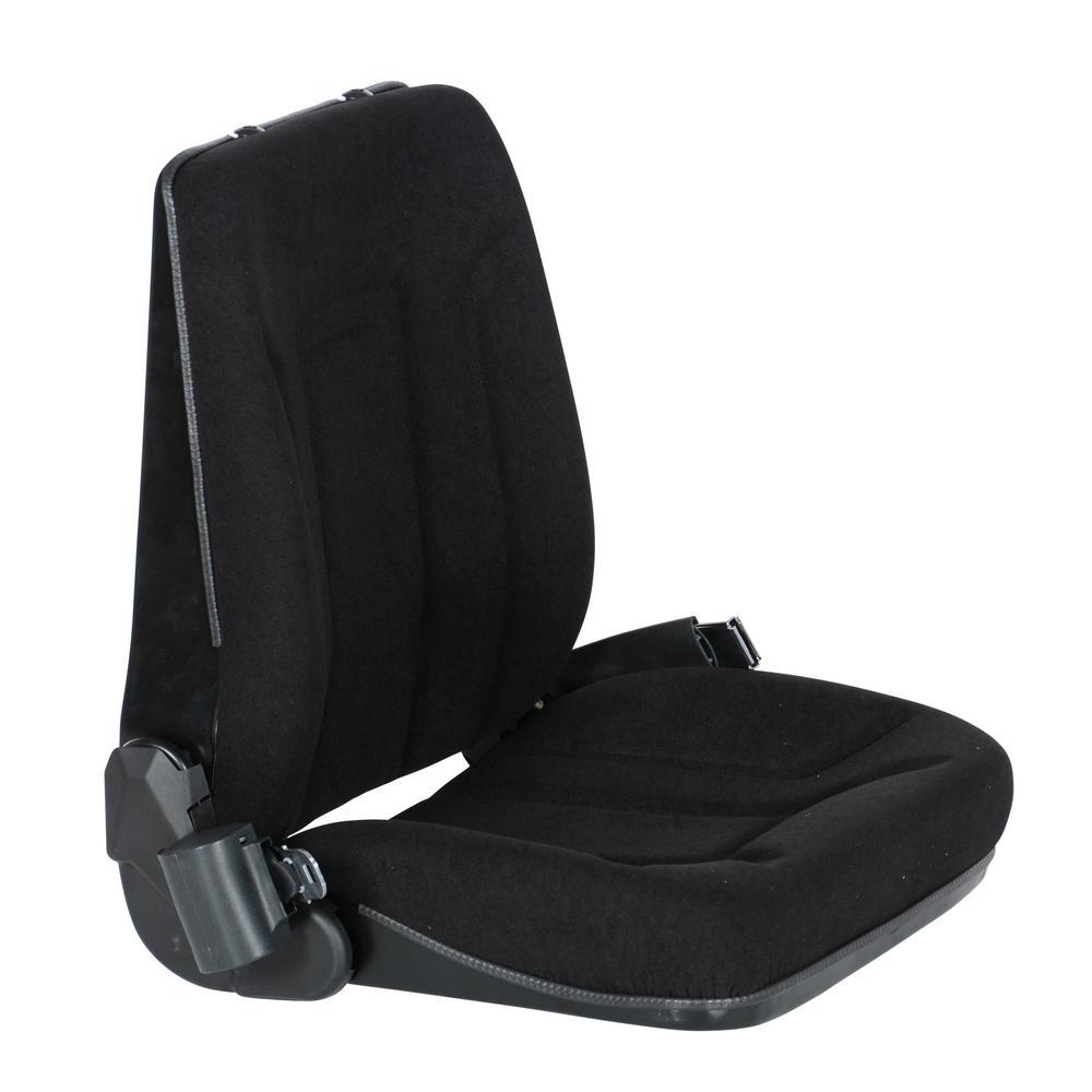 Vestil Deluxe Forklift Cloth Seat with Seat Belt