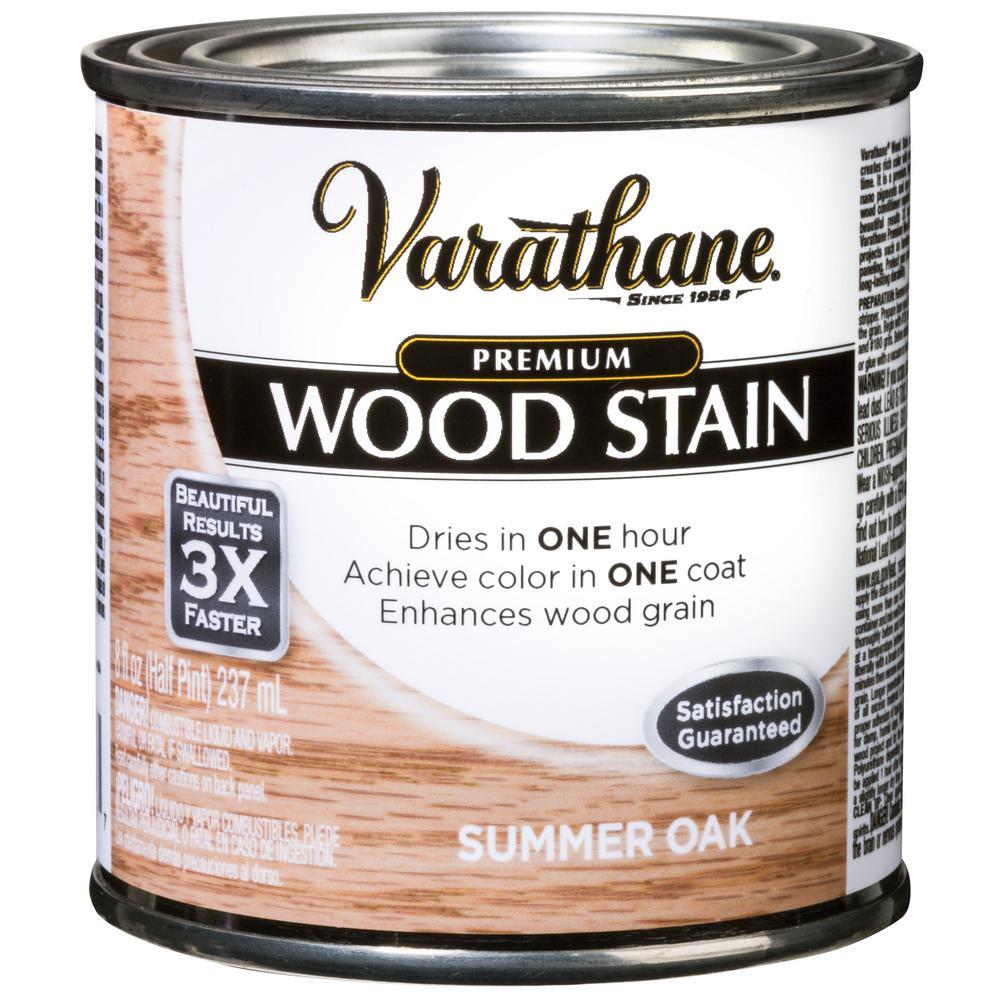 8 oz. Summer Oak Premium Fast Dry Interior Wood Stain