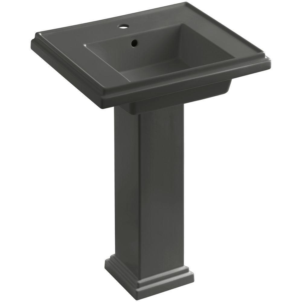 KOHLER Tresham Ceramic Pedestal Combo Bathroom Sink with ...