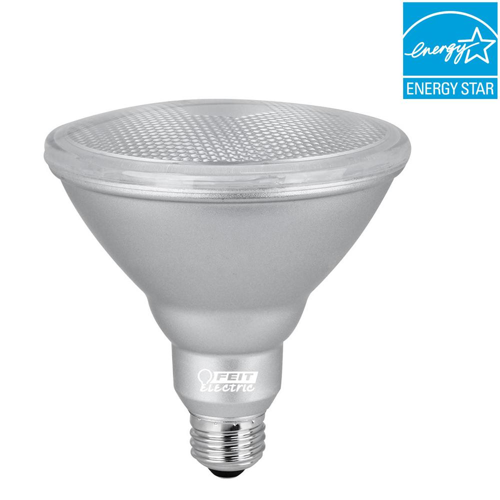 90W Equivalent Warm White (3000K) PAR38 Dimmable LED 90+ CRI Weatherproof