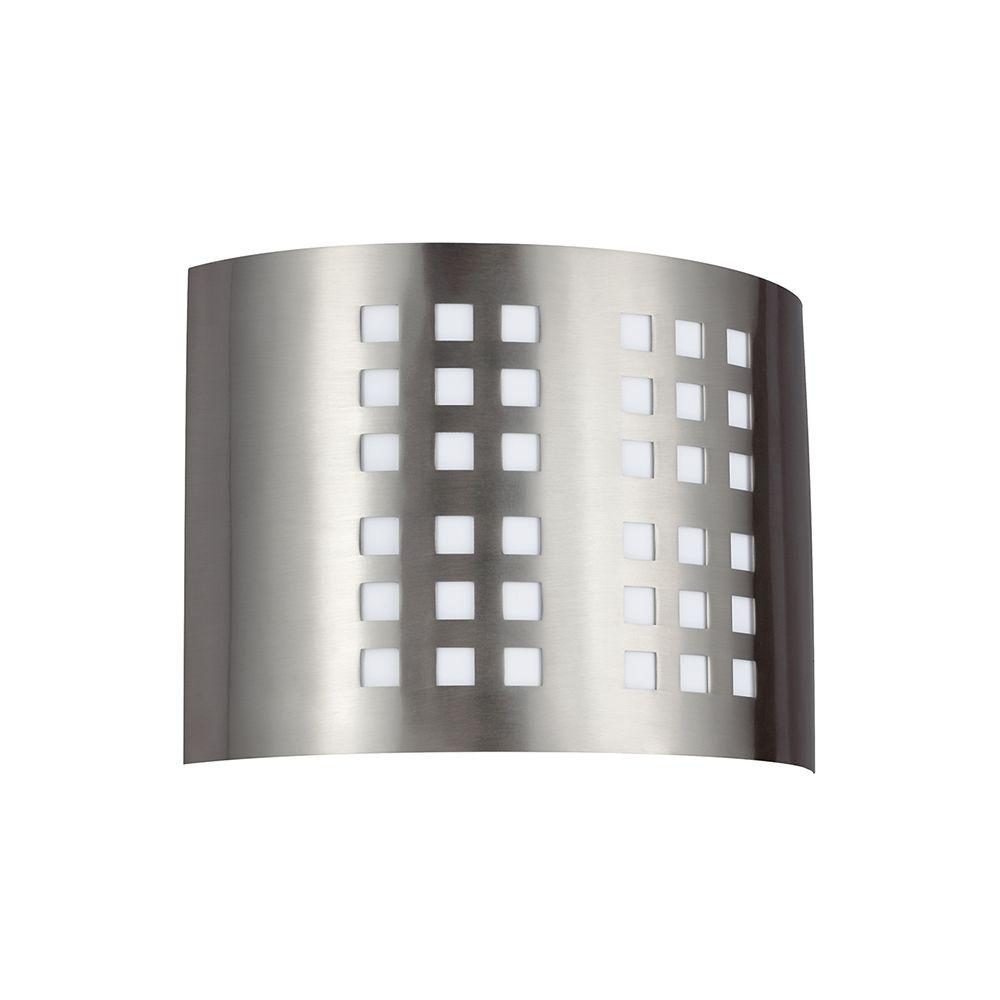 Sea Gull Lighting ADA Wall Sconces Brushed Nickel Wall Sconce ...