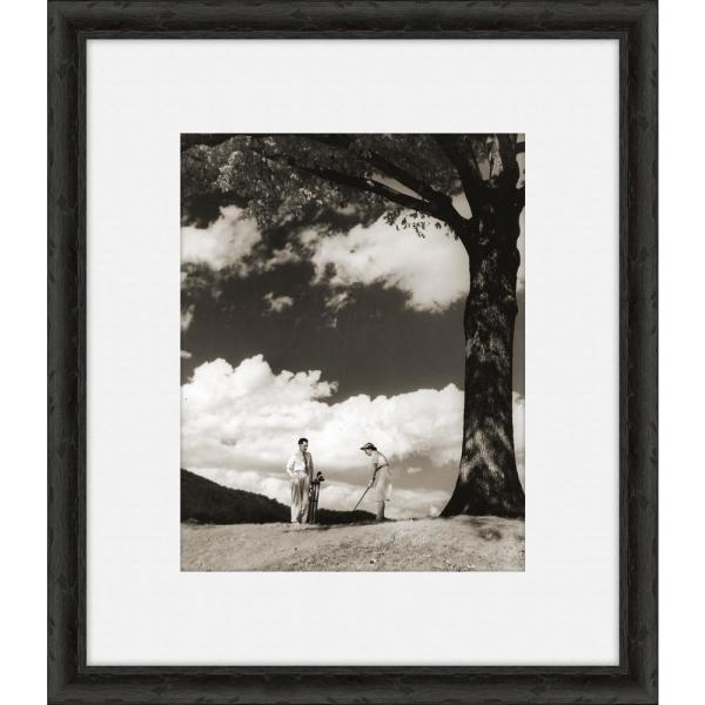 Vintage Golfers X Framed Giclee Wall Art