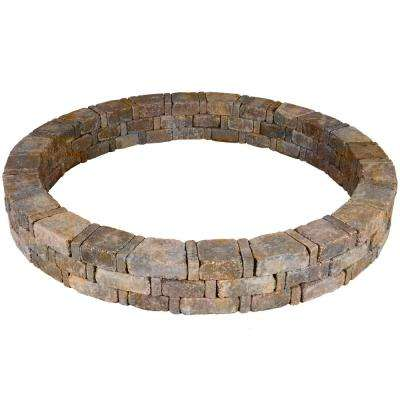 Rumblestone 79.3 in. x 10.5 in. Concrete Tree Ring Kit in Sierra Blend