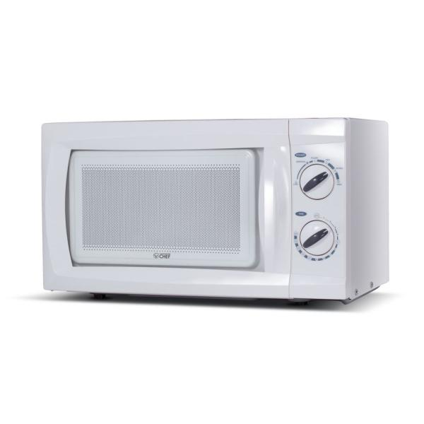 0.6 cu. ft. Countertop Microwave White