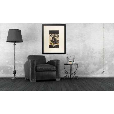 "24 in. x 18 in. ""Norton Weismann and Marr Series"" by Fairchild Paris Framed Print Ad Wall Art"