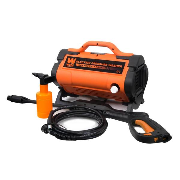 2000 PSI 1.6 GPM 13 Amp Variable Flow Electric Pressure Washer