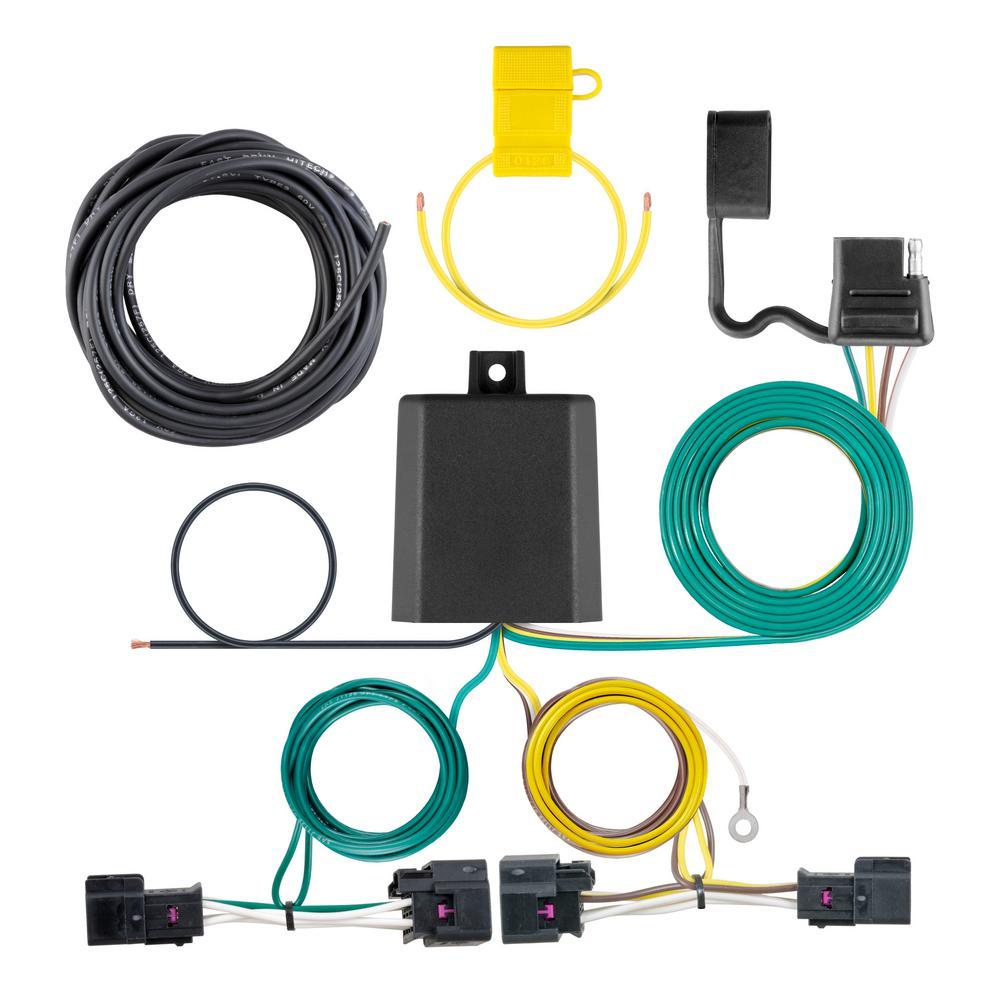Way Flat Trailer Wiring Harness on 4 way flat cover, 4 way flat connectors, 4 wire harness, 4 way flat mounting bracket,
