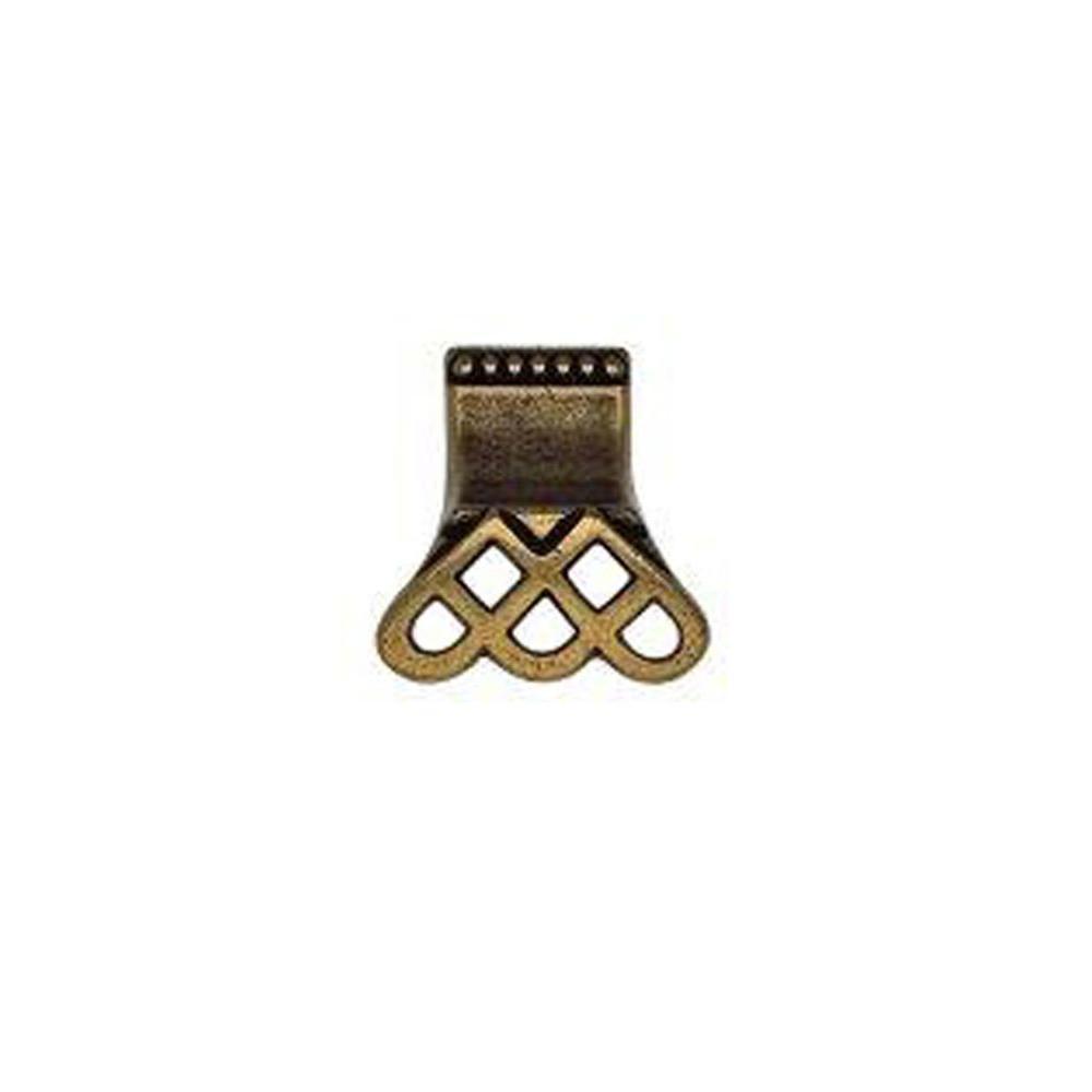 Classic Hardware Bosetti Marella Artistic Series 1.5 in. Diameter Antique Brass Dark Knob