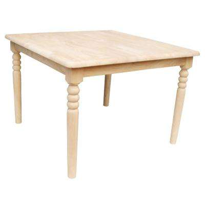 Unfinished Kid s Table. International Concepts   Kids Table   Furniture   Decor   The Home