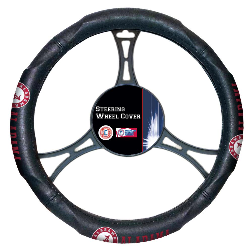 Alabama Multi Colored Rubber- PVC Car Steering Wheel Cover