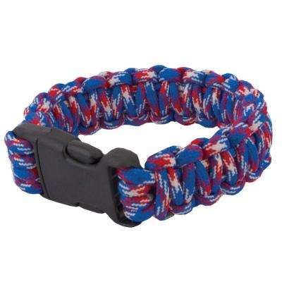 9 in. 4th of July Paracord Survival Bracelet