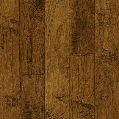 Hickory Brushed Candlelight 3/8 in. Thick x 5 in. Wide x Varying Length Engineered Hardwood Flooring (25 sq. ft. / case)