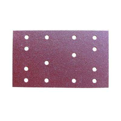 100-Grit A/O Hook and Loop Sanding Pad 80 mm x 133 mm (50-Pack)