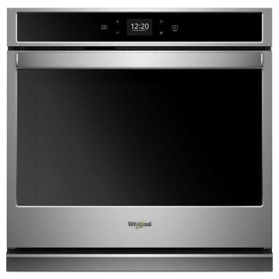 27 in. Single Electric Wall Oven with Self Cleaning in Stainless Steel