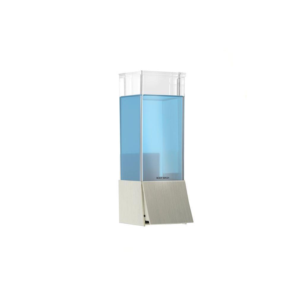 LINEA Single Luxury Soap Dispenser in Brushed Nickel