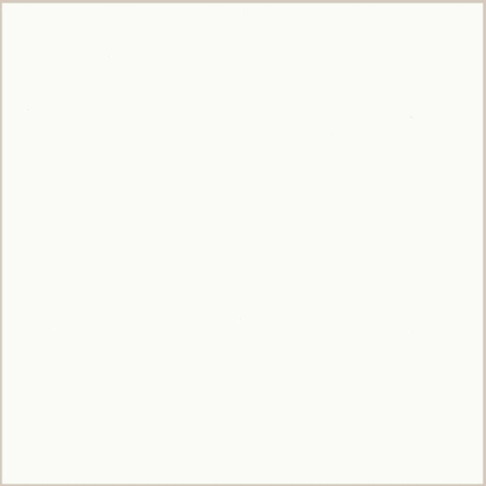 LG Hausys HI-MACS 2 in. x 2 in. Solid Surface Countertop Sample in Arctic White