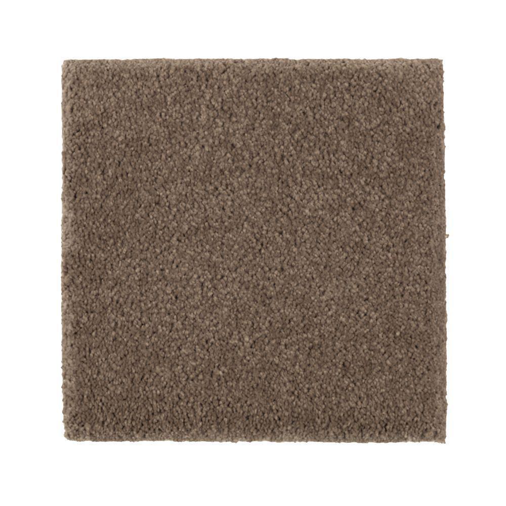 Carpet Sample - Gazelle II - Color Elkhair Texture 8 in. x 8 in.