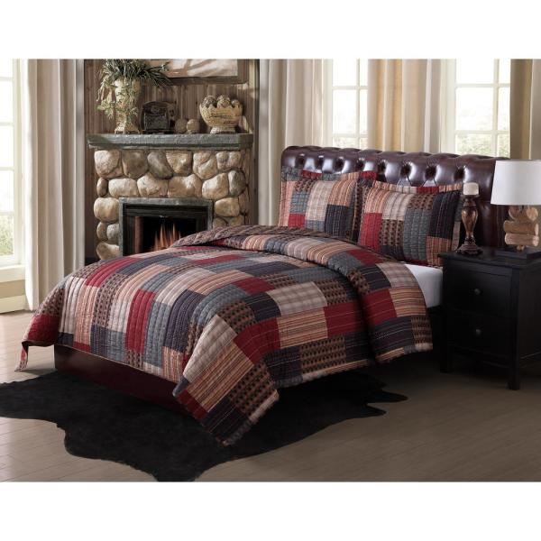 Remington Gunnison 2-Piece Multiple Twin Quilt Set