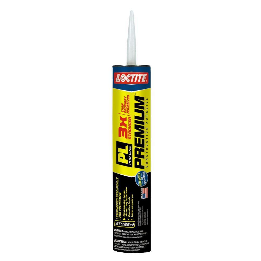 Loctite PL Premium 28 fl. oz. Polyurethane Construction Adhesive ...