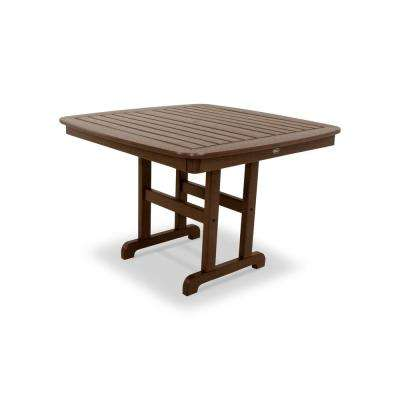 Yacht Club 44 in. Vintage Lantern Patio Dining Table