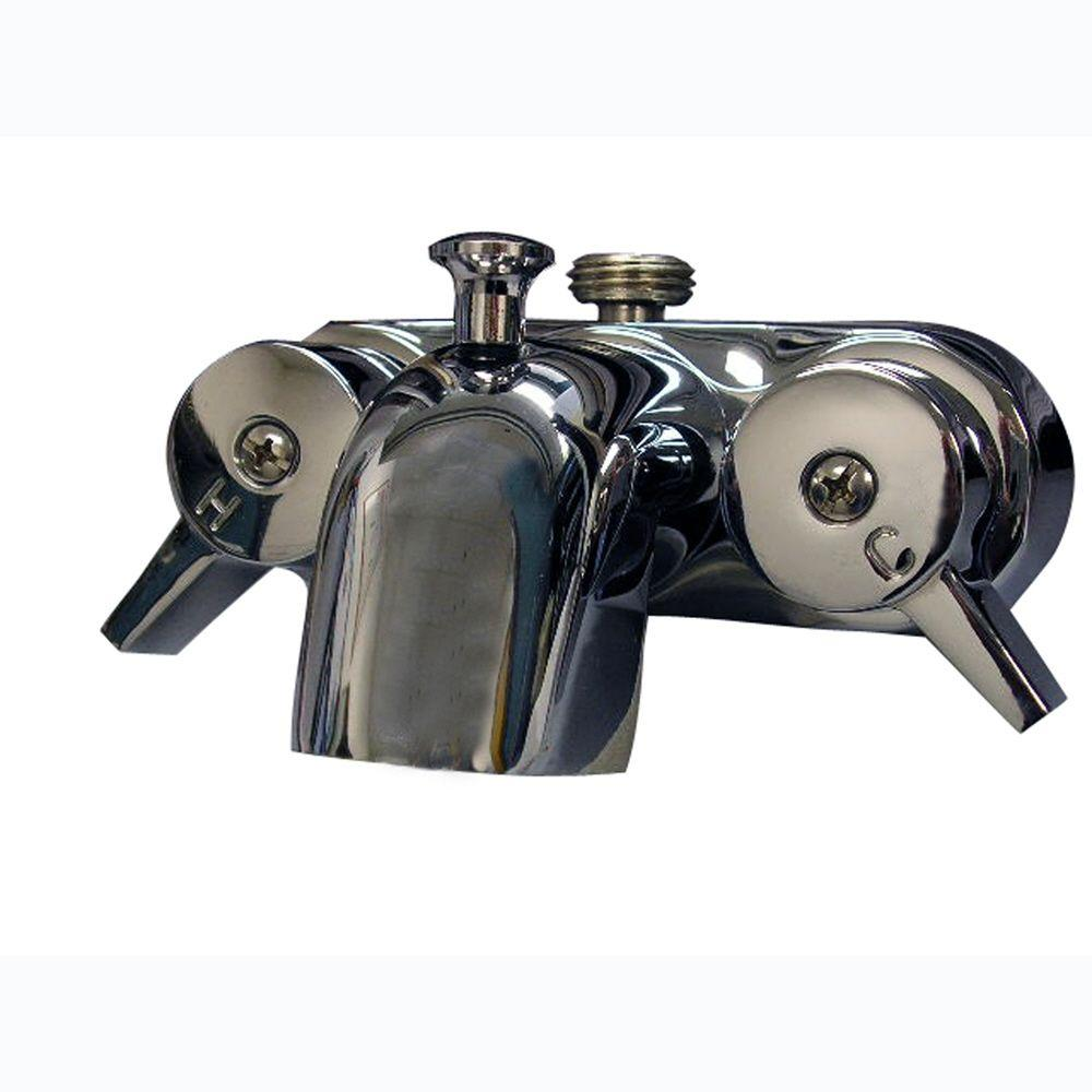 Shower/tub diverter - Claw Foot Tub Faucets - Bathtub Faucets - The ...