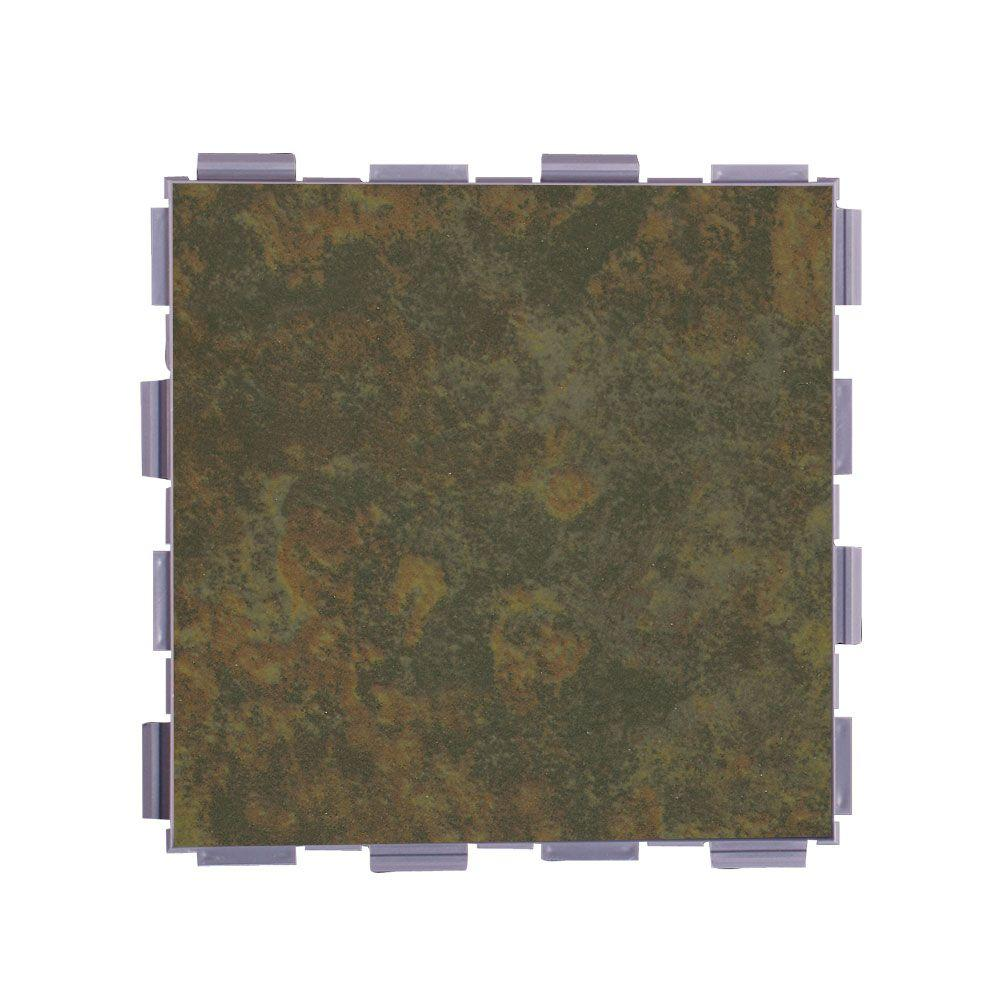Moss 6 in. x 6 in. Porcelain Floor Tile (3 sq.