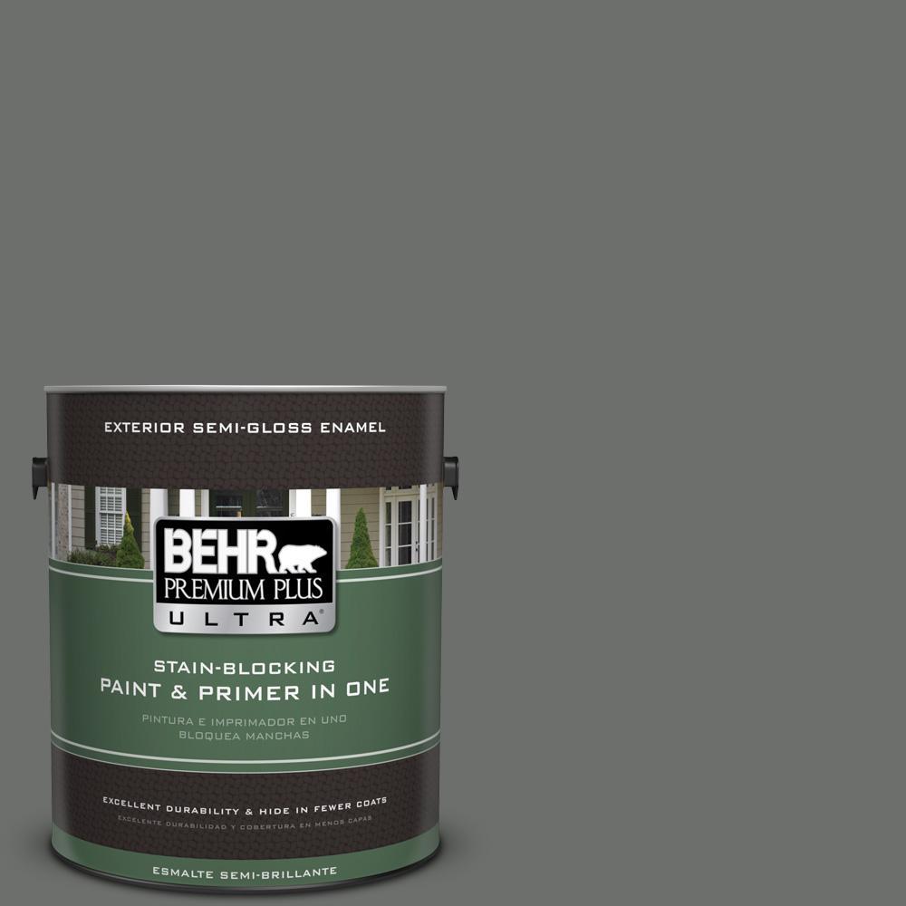 1 gal. #PPU24-05 Ancestral Semi-Gloss Enamel Exterior Paint