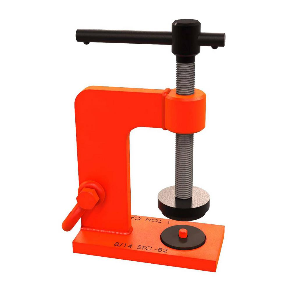 Bon Tool 1 Ton 5 In Stone Lifting Clamp 11 888 The Home