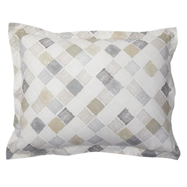 Cstudio Home by The Company Store Silver Lining Organic Cotton Percale