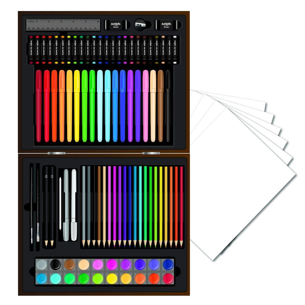 Deluxe Art Kit for Kids and Adults (100-Piece)