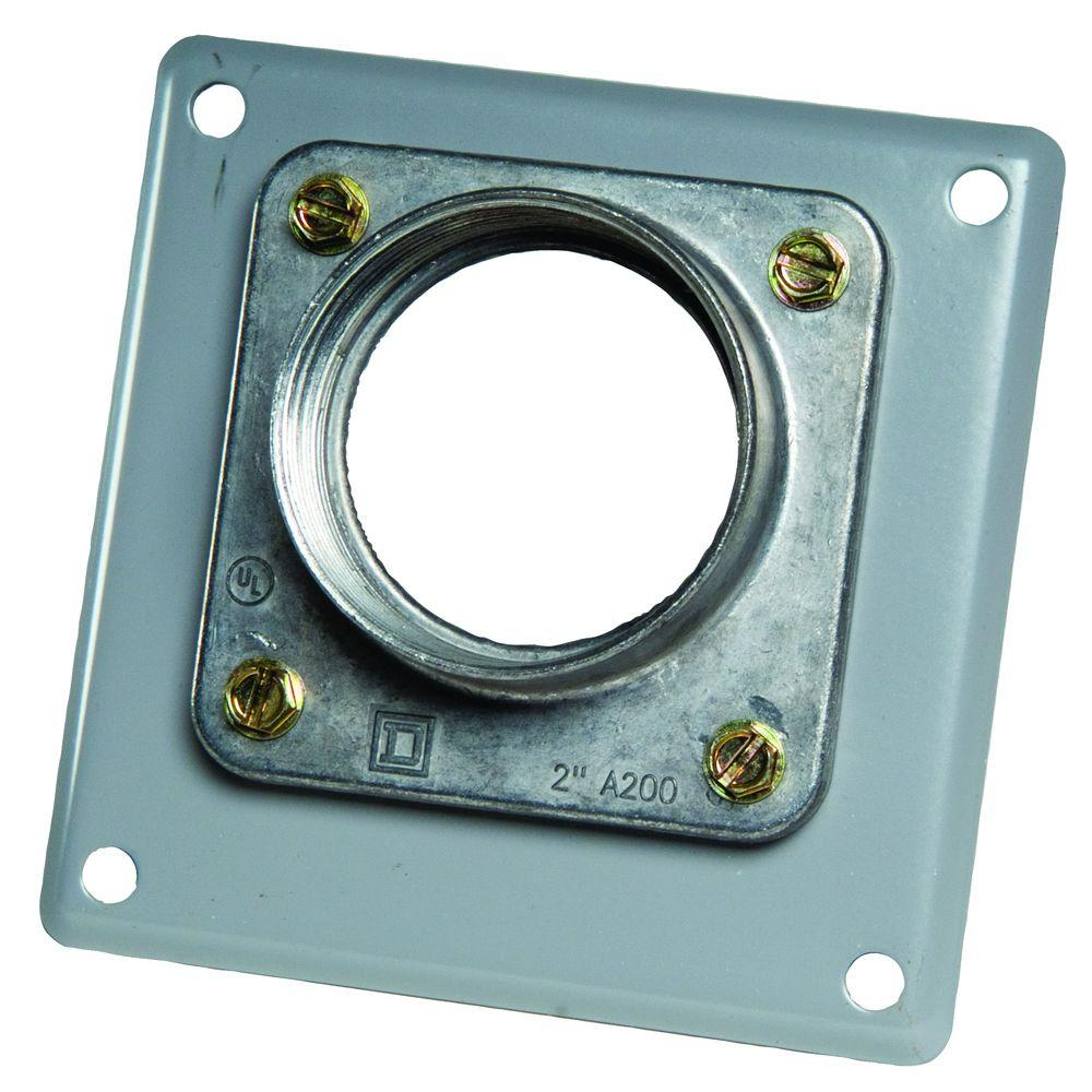 Square D 2 in. Hub for Devices with A-L Openings