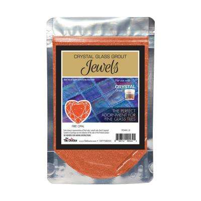 Crystal Glass Jewels Fire Opal Additive