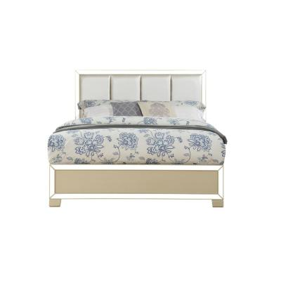Voeville II PU and Champagne Eastern King Bed