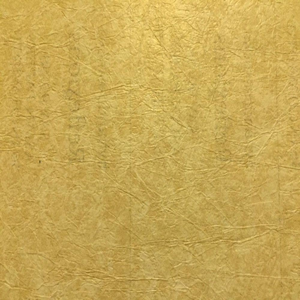 Washington Wallcoverings Antique Gold Rice Paper Textured Wallpaper