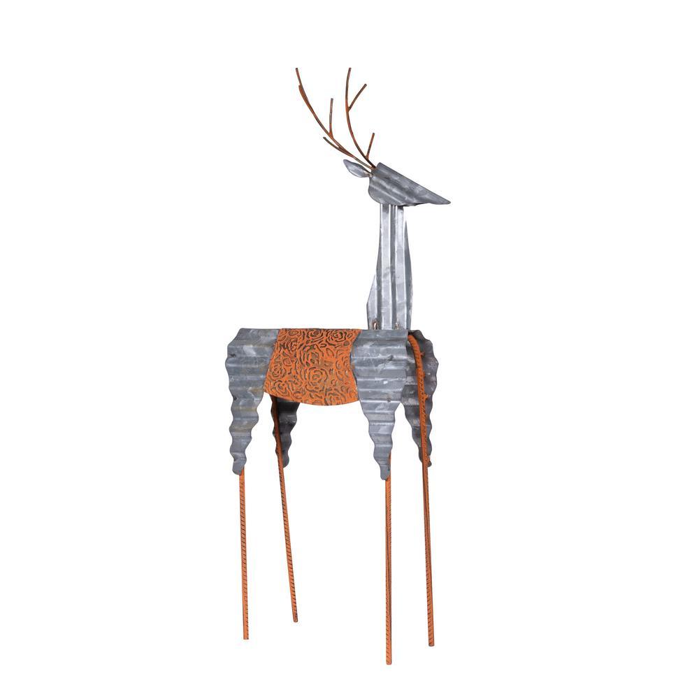 Alpine Corporation Sheet Metal Reindeer