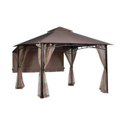 Shadow Hills 10 ft. x 10 ft. Roof Style Garden House Gazebo Awning