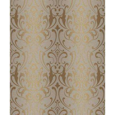 Glam Damask Wallpaper