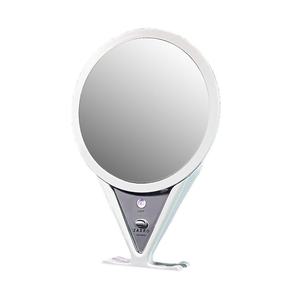 Zadro Ultra Designer Series Fog-Free Shower Mirror in White-DISCONTINUED