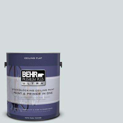1-gal. #PPU12-13 Ceiling Tinted to Urban Mist Interior Paint