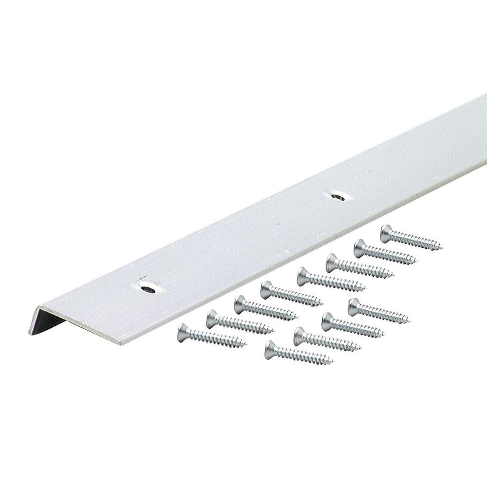 72 in. Decorative Aluminum Moulding Edging A787 in Polished