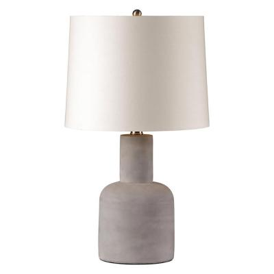 Concept 20 in. Gray Table Lamp