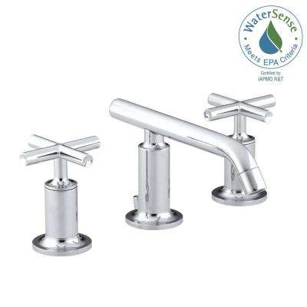 Cross - Widespread Bathroom Sink Faucets - Bathroom Sink Faucets ...