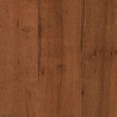 Pristine Maple Amaretto Engineered Hardwood Flooring - 5 in. x 7 in. Take Home Sample