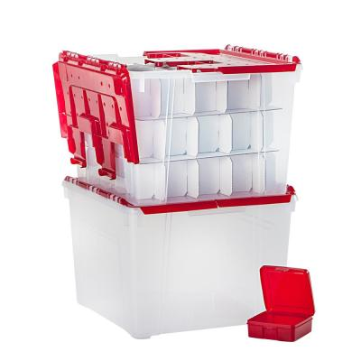 Holiday Organizer Set with Ornament Dividers