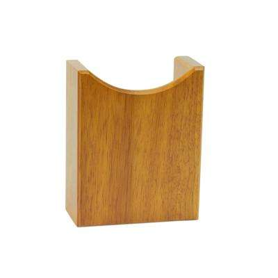 5 in. x 4 in. x 1-3/4 in. Oak Accents Remote Holder
